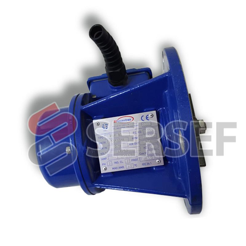 MOTOVIBRADOR BGRC 200/3/F RPM=3000 V=48-60 HZ=50 KW=.19