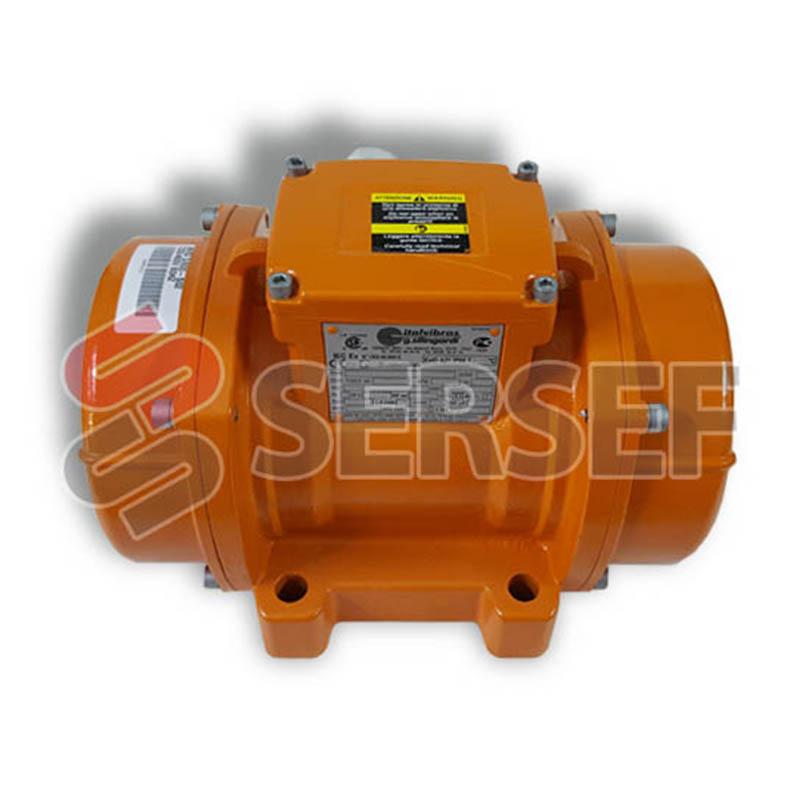 MOTOVIBRADOR MVSI 3/800-S02 FC KG=754 RPM=3600 KW=0.682 V=230/460 HZ=60 MARCA ITALVIBRAS