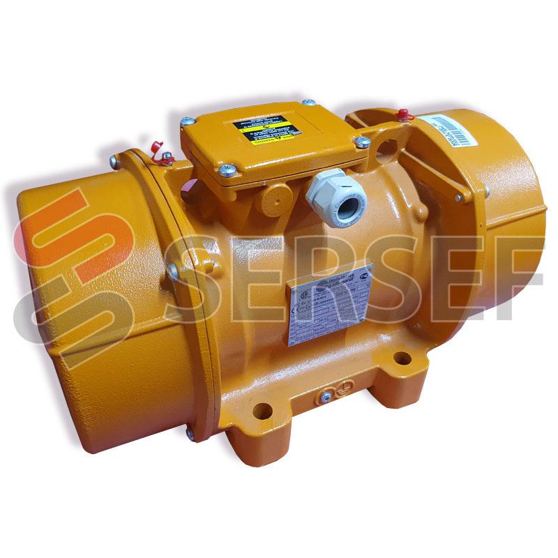 MOTOVIBRADOR MVSI 3/1600 S02 FC 1483KG  RPM=3600 TRIFASICO V=230/460 HZ=60 MCA ITALVIBRAS