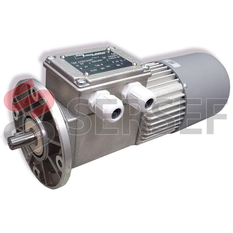 MOTORREDUCTOR ACRC244PT I=1:13.32 B5  ENCODER 512PPM 24VDC MARCA MINIMOTOR