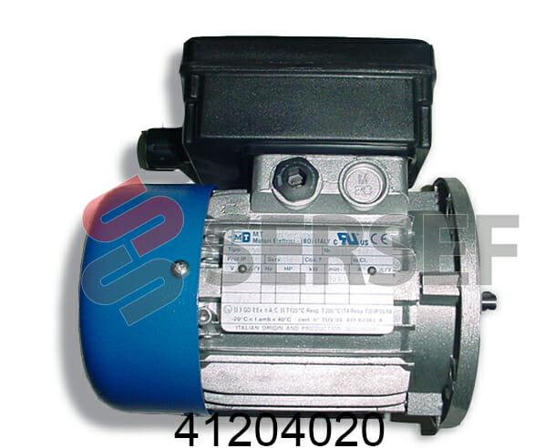 MOTOR M56B4 IMB5 KW=0.09 V=110 HZ=60 MONOFASICO MARCA MT