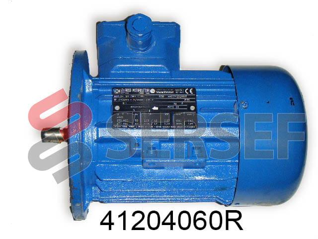 MOTOR HB 71B4/B5 RPM=1380/1660 KW=0.37/ 0.45 V=380/440 60 HERTZ IP 55 S1 MARCA ROSSI
