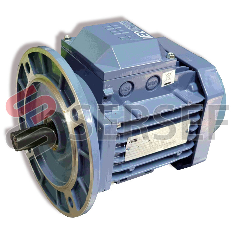 MOTOR M3AA 80D4 KW=0.75 IMB5 400V IE2 3GAA082-BSE MARCA ABB