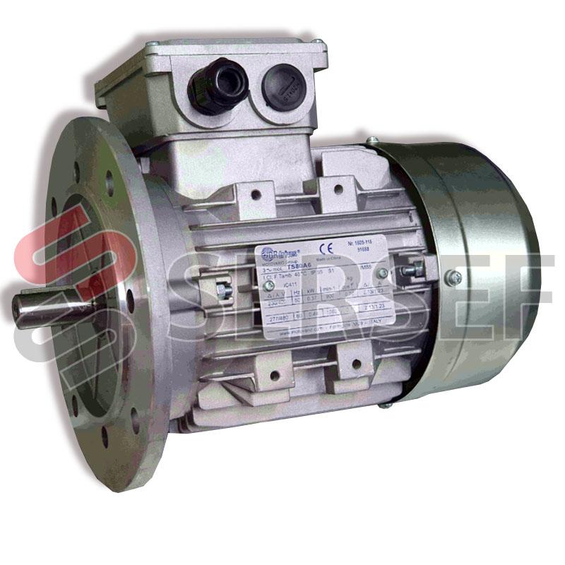 MOTOR 80A6/B5 RPM=900/1080 KW=0.37/0.44 220/440 VOLTS 50/60 HZ MARCA DRDRIVES