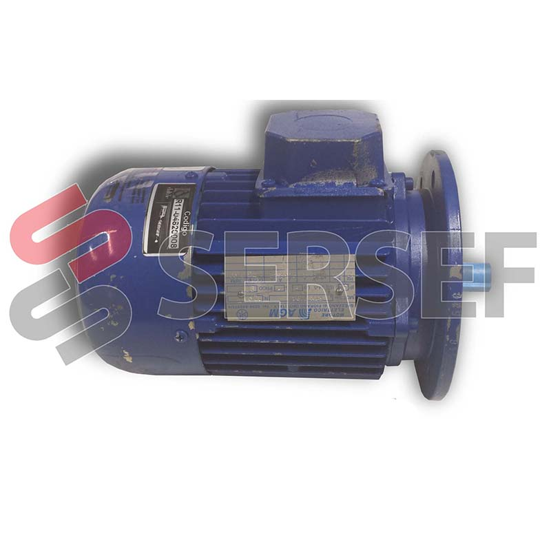 MOTOR 71B4B5 RPM=1380/1660 HP=0.5/0.6 60/104 V. 50/60 HZ MARCA AGM