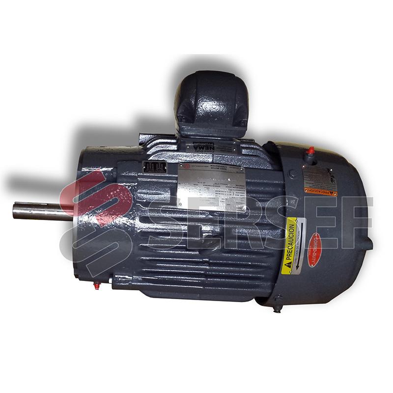 MOTOR ARMAZON 213TCZ (FLECHA ESPECIAL)  HP=7.5 RPM=1800 V=230/460 HZ=60 TIPO CTE EFICIENC