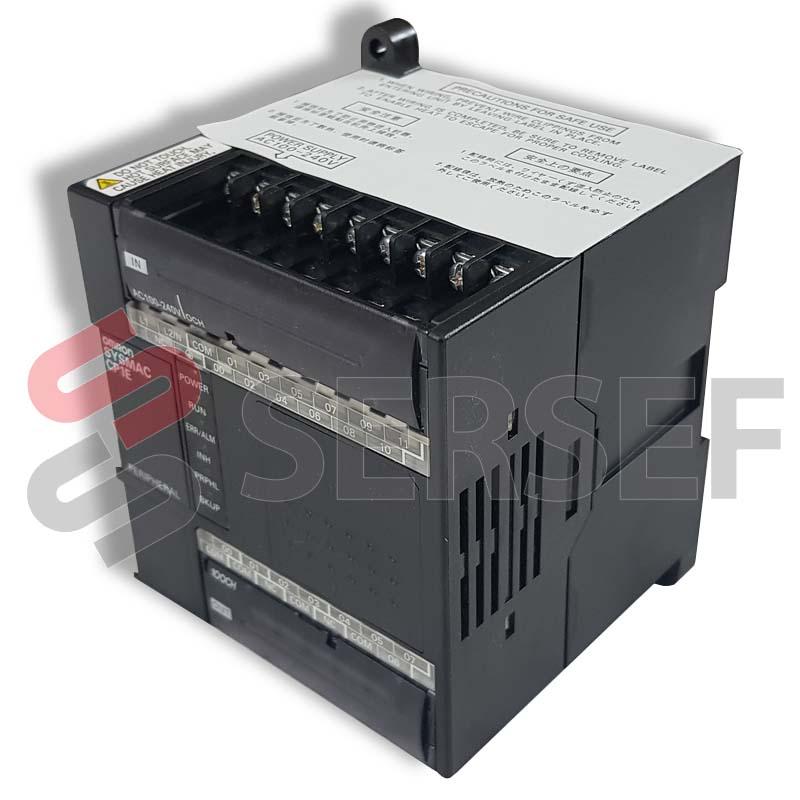 PLC MODELO CP1EE20DRA 12IN,8OUT,AC PS 100-240V 50/60HZ 25VA I=24VDC MARCA OMRON