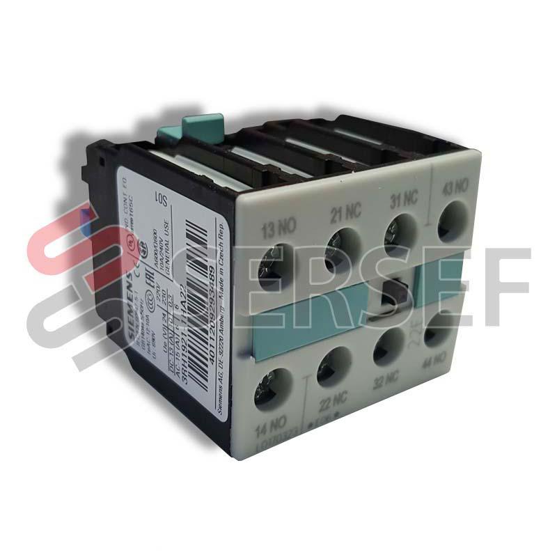BLOCK DE CONTACTOS 3RH2911-1HA22 2NA+2NC EX. 3RH1921-1HA22 MARCA SIEMENS