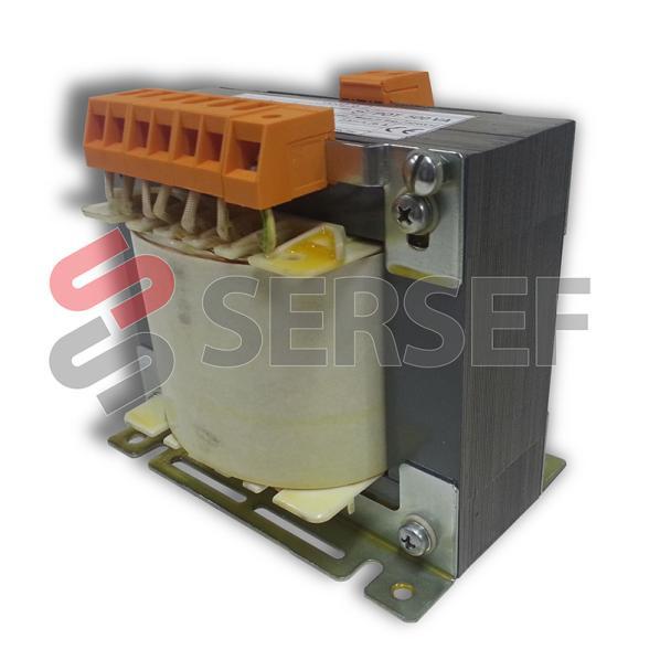 TRANSFORMADOR MONOFASE 500VA PRIM. 0/230/400/440/480 -20V + SCHERMO SEC. 0/220V