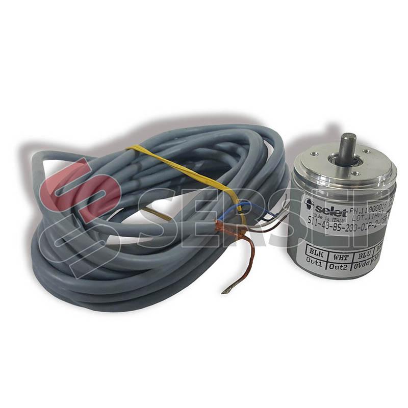 ENCODER MODELO S1-140-BS-200-OCP-2-C5R-6 MARCA SELET