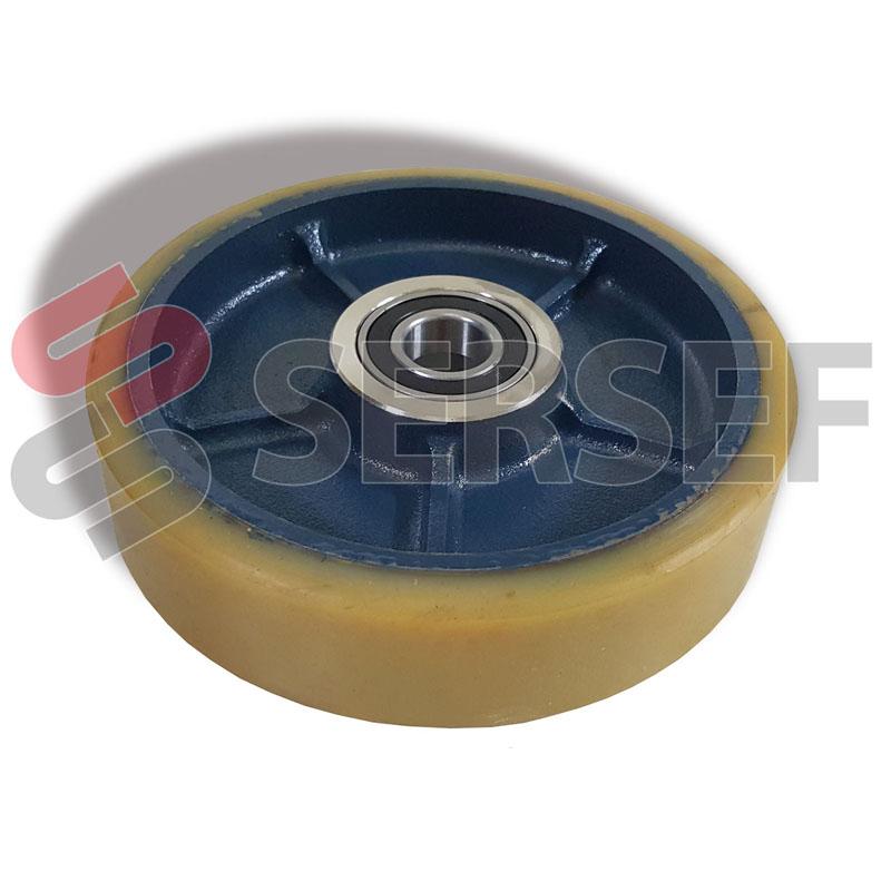 RUEDA LOCA MR AGV TAV. 02 POS. 6  COD. D45510023 MARCA TECNOFERRARI