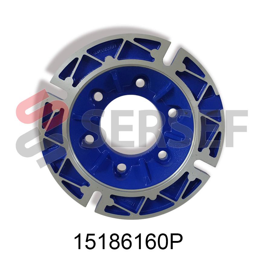 FLANGE DIAM. 160 B5 X 71 PARA REDUCTOR  NMRV-P 63 Y 75  MARCA MOTOVARIO