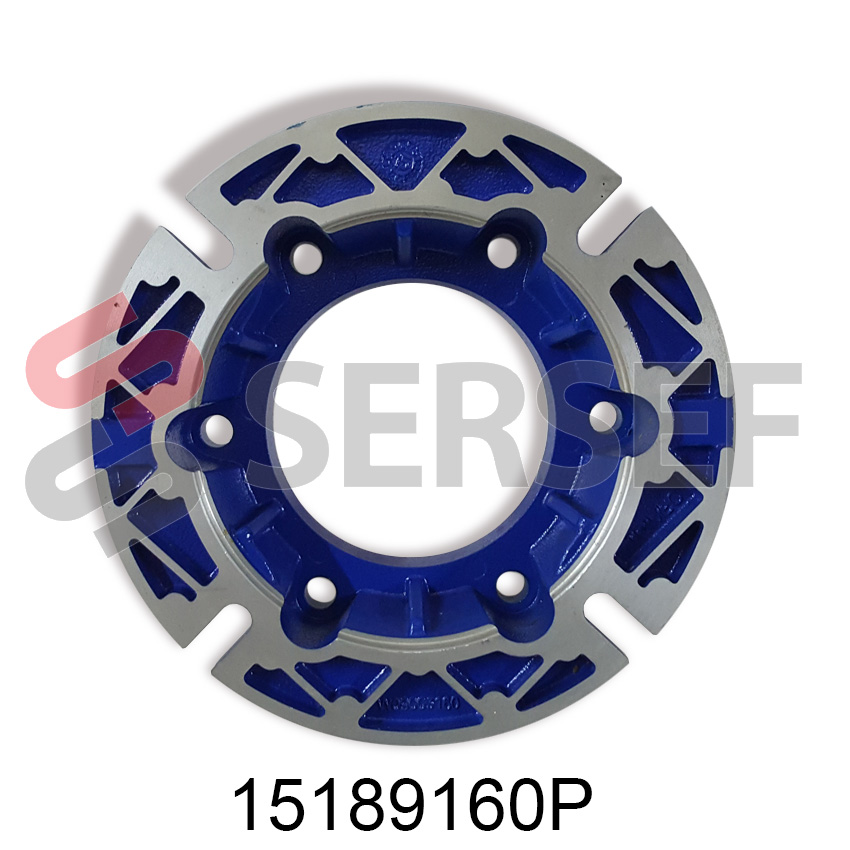 BRIDA DIAMETRO 160 MM. PARA REDUCTOR    NMRV-P 90/110 MARCA MOTOVARIO