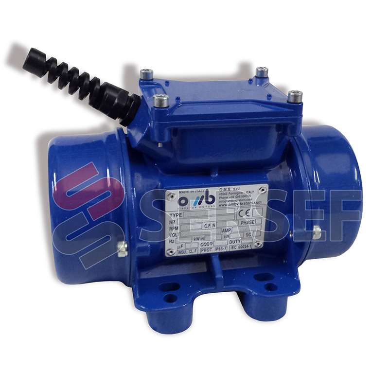 MOTOVIBRADOR BM 200/3 KW=.19 V=254-265/ 440-460 HZ=50/60 RPM=3000/3600 BS30-00020Q MCA OM