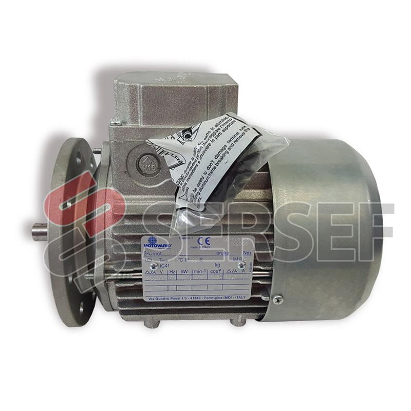 MOTOR TS71B4 IMB5 REDUCIDA DIAMETRO 140 KW=0.45 V=255/440 HZ=60 MARCA MOTOVARIO