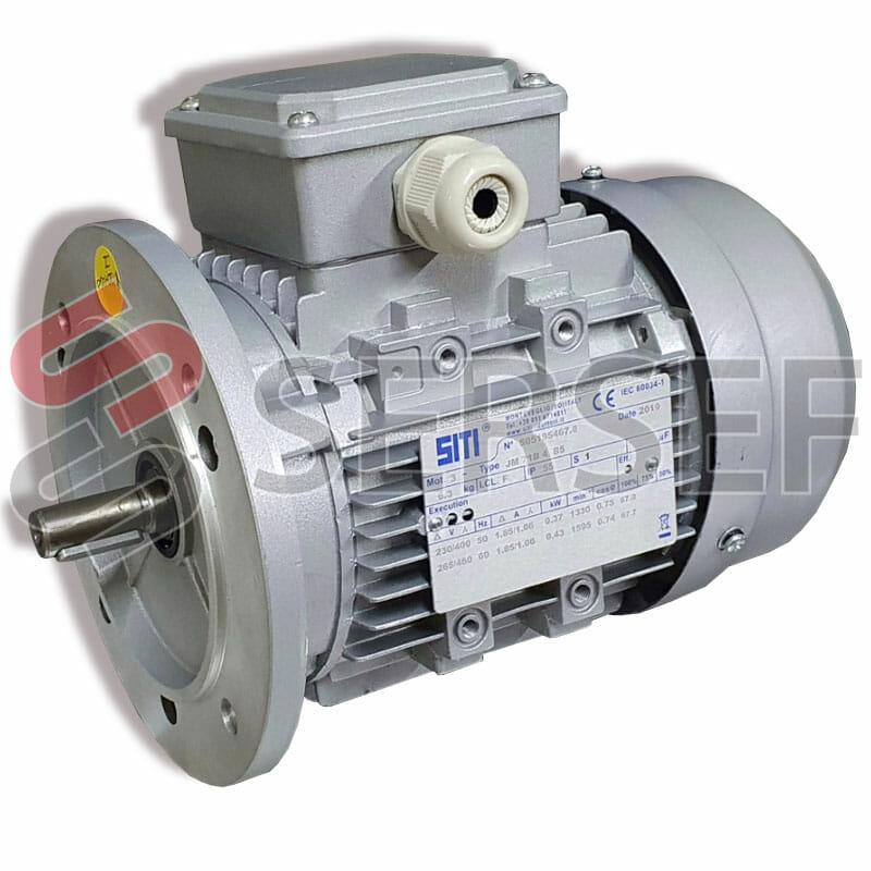 MOTOR PC71 2-4  KW=0.37/0.45 IMB5 230-  400/276-480V 50/60HZ 4P MARCA SITI
