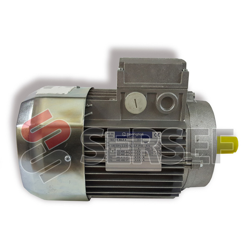 MOTOR BN 90LB4 IMB14 1.85/2.2KW 230/400-265/460V HZ=50/60 MARCA BONFIGLIOLI