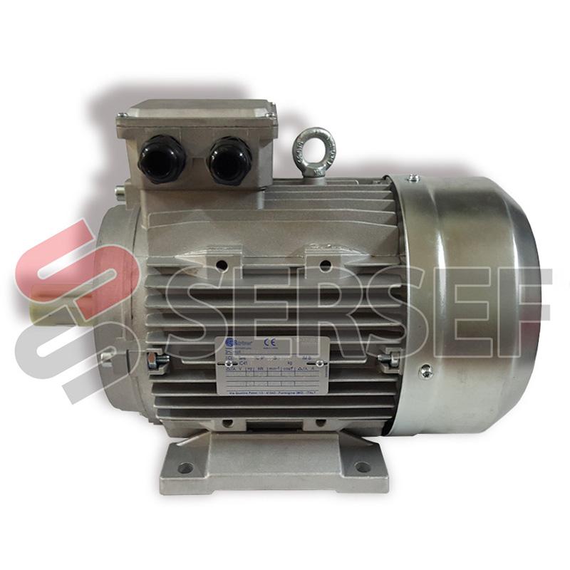 MOTOR TS 112 MC4 255/440 V. KW=5.5 EN 50HZ KW=6.6 EN 60 HZ B3 MARCA DRDRIVE