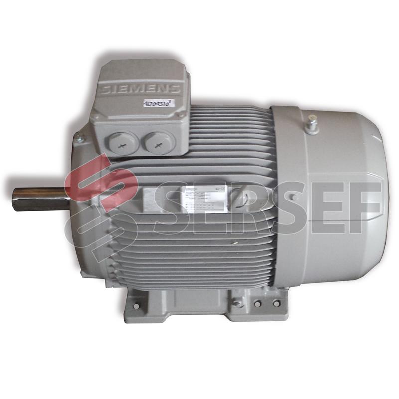 MOTOR 1LE1503-1EB43-4AB4-Z IMB3 KW=22/25.3 V=400/690/460 HZ=50/60 RPM=1470/1770 IE3 IP5