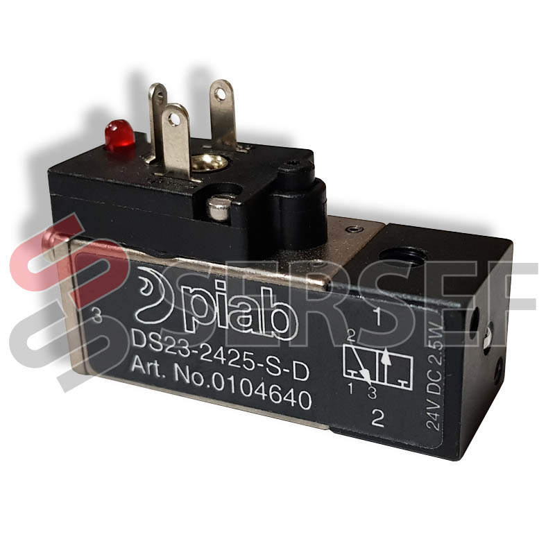 ELECTROVALVULA DS23-2425-S-D CODIGO 01.04.640 MARCA PIAB