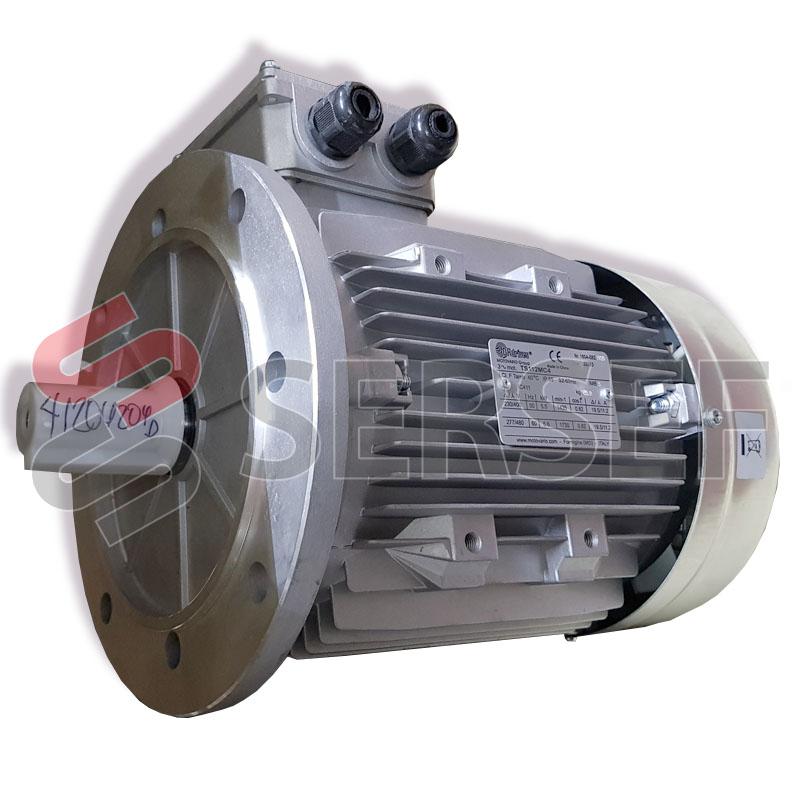 MOTOR TS112MC4 IMB5 5.5/6.6KW 230/400V 50/60HZ MARCA DR DRIVES