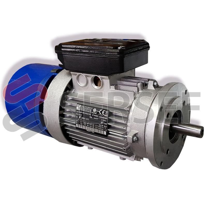 MOTOR AUTOFRENANTE BAXPV 90 SA4 EFF.IE3 S1 4P KW=1.1 3X230/460 VAC 60HZ MARCA MGM