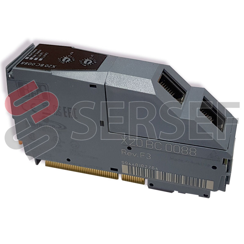 X20BC0088 X20 BUS CONTROLLER ETHERNET/IPINTEGRATED SWITCH, WEB INTERFACE MARCA B&R