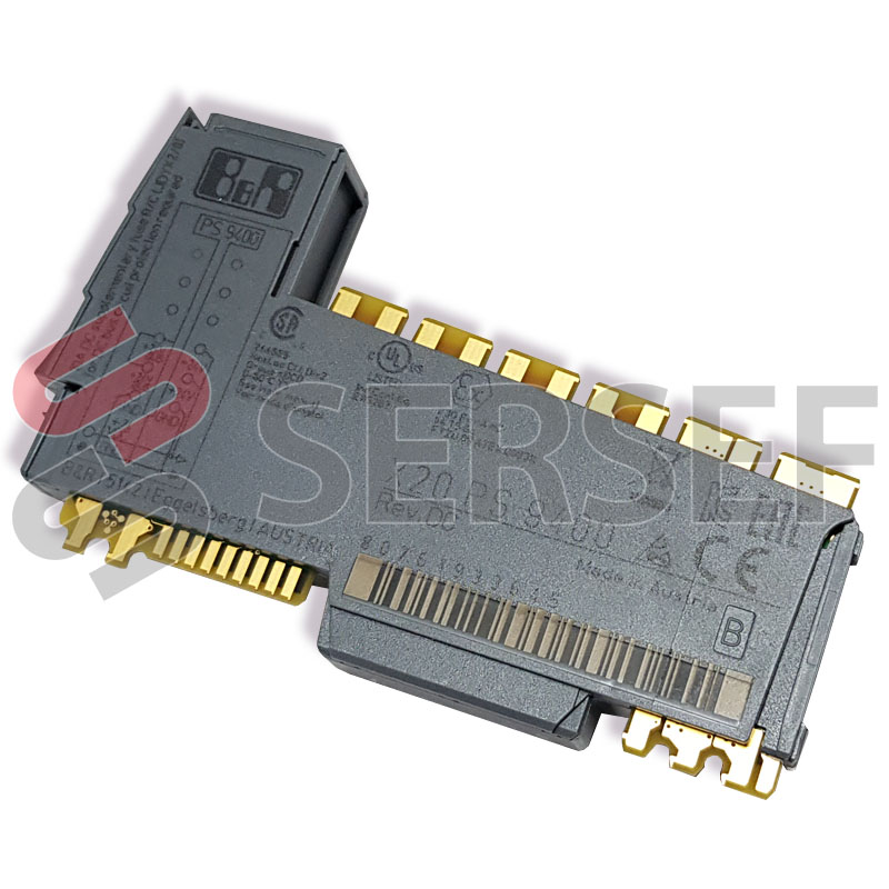 X20PS9400 X20 BC SUPPLY, 24 V POWER     SUPPLY MODULE FOR BUS CONTROLLER MARCA B&R