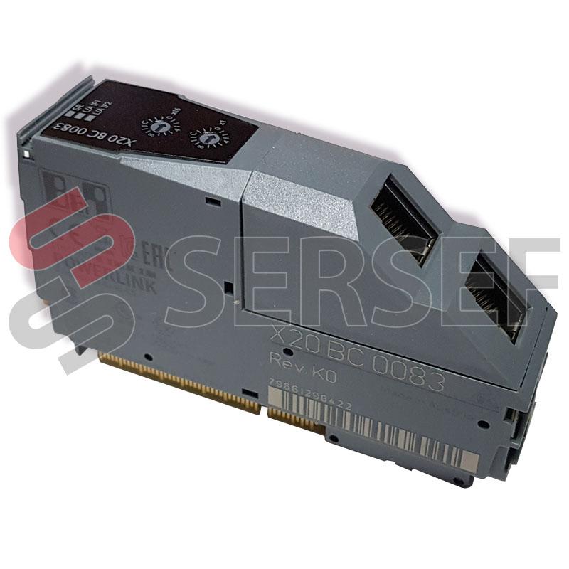X20BC0083 X20 BUS CONTROLLER POWERLINK  1 POWERLINK INTERFACE NTEGRATED 2-PORT HUB B&R