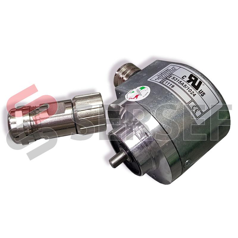 ENCODER S315A5/1024 (ITALIANO, IGUAL AL  CS10-11420113-1024 ESPAÑOL) MARCA HOHNER