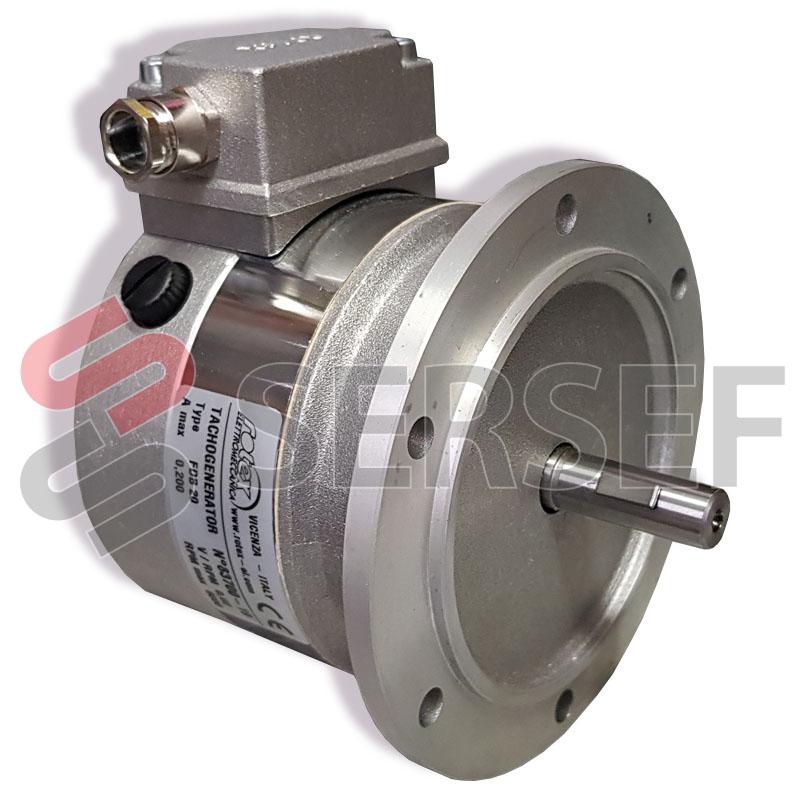 TACOGENERADOR TIPO FDB 20 COD. 01.122   FLECHA DIAM 11 MM. BRIDA B10  0.02 V/RPM ROTEX