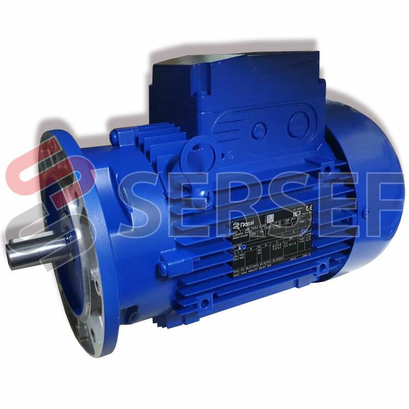 MOTOR HB3 100LA 4P KW=2.2 V 255-440/60 B5 MARCA ROSSI