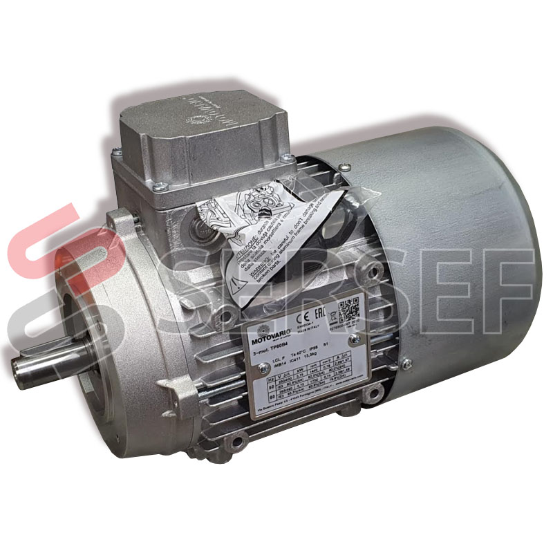 MOTOR TP80B4 IMB14 KW=0.75 V.230/400-265/460 50/60HZ IE3 MARCA MOTOVARIO