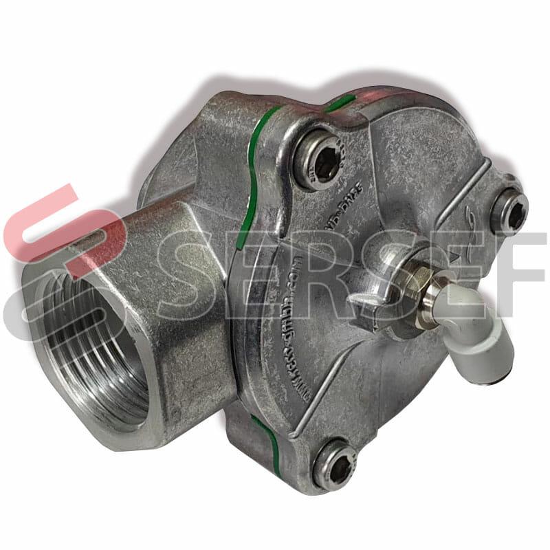 ELECTROVALVULA VR-DN 25_AL 6P COD. 70100076 MARCA RECO POWER-RELFEX