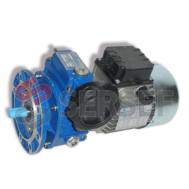 MOTOVARIADOR TXF002 140/11 * 23 B5 CM+MOTOR TH63D4 KW=0.25 MARCA MOTOVARIO